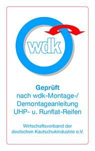 geprüft nach wdk-Montage - Wirtschaftsverband der deutschen Kautschukindustrie e.V.